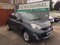 Nissan Micra 1.2 DIG-S Acenta 5dr£5,695 p/x welcome 1 YEAR FREE WARRANTY.