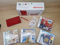 Nintendo Dsi Console With 4 games As New
