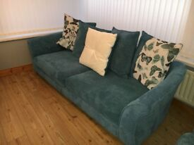 4 Seat sofa & Cuddler chair