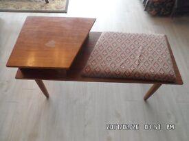 'Phone stool' / hallway stool-table