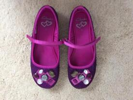 Clark's girls party shoes
