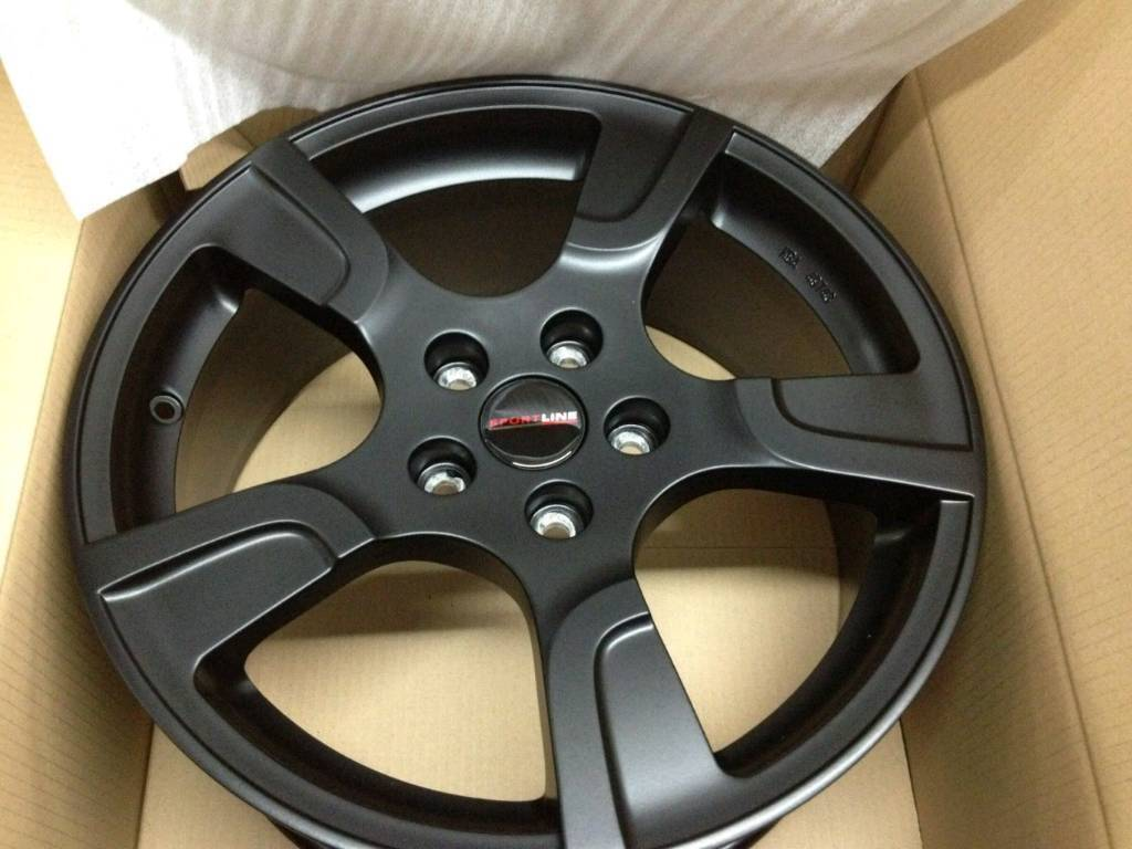 NEW 20'' SPORTLINE ALLOY WHEELS X4 BOXED 5X120 T5 T6 LOAD RATED VAN
