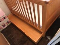 Marks and Spencer's change table draws and cot bed