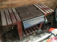Charcoal Barbecue in need of a clean