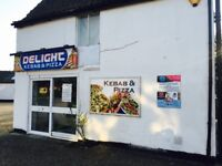 Shop with Parking + ! Bedroom Flat in Sawtry