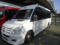 Executive minibus hire with driver for any occasion call Gill 07812701482