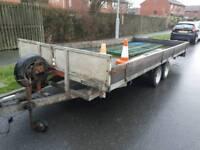 £1400.. Massive 16x7 car/truck transport trailer.