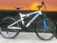 BOSS Astro Link Men's Mountain Bike Full Suspension - 26 Inch RRP £225