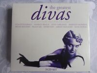 The Greatest Divas - 3 CD Box Set