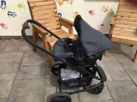 Hauck Pacific 4 Travel System