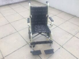 Lightweight Mobility Wheel Chair For Sale £45 (Used) was over £300 New. Easy to Fold Up & Store.