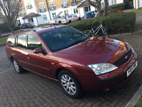 Ford Mondeo Ghia X Estate, Huge Service History, 19 Stamps, Years Mot !