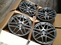 """NEW GREY 19"""" R19 ALLOYS 19 INCH AUDI A4 A5 A6 A7 A8 S5 S4 S6 RS RS5 BBS STYLED CONCAVE 9J 5X112"""