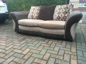 Dfs large 2 seater deliver option avail