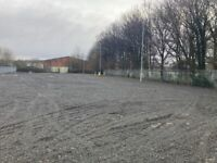 Large Open Storage Yard To Let