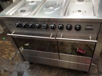 Silver Range gas cooker......,Mint free delivery