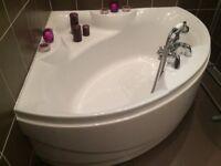 Large corner bath.. Rarely used