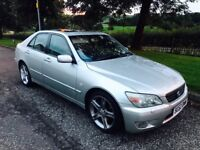 2002 52 plate Lexus IS 200 se sport auto only £575