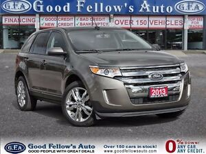2013 Ford Edge SEL MODEL, LEATHER, MOONROOF, NAV, CAM, 6CYL, 3.5