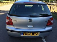 2002 Volkswagen Polo 1.4 Sport 5dr Low Insurance Group HPI Clear @07445775115
