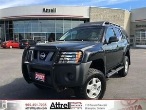 2007 Nissan Xterra S. Keyless Entry, Roof Rails, 4x4