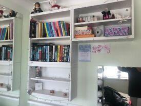 Ikea bookcase in white