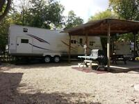 MUST SEE!!! Katepwa RV Park - Lot and Camper for sale
