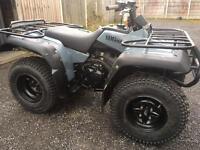 Road legal Yamaha 400 cc 4x4 farm quad with reverse