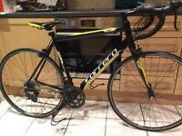 "Adults Carrera TDF Ltd Road bike. 21"" Large frame. 54cm. 700cc Wheels. Fully working"
