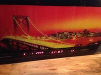 Electrical New York display board