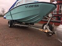Micro plus 461 fishing boat