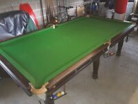 8x4 Slate Snooker Table
