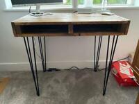 Handmade pallet desk