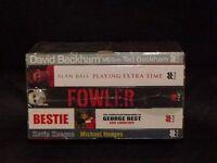 boxed set of Football Books