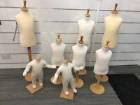 8 Kids Manequins For Sale