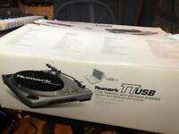 Numark TTUSB Turntable with USB interface.