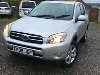 2009 Toyota RAV4 one previous owner full service history 1 year MOT