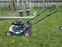 we selll and service lawnmowers