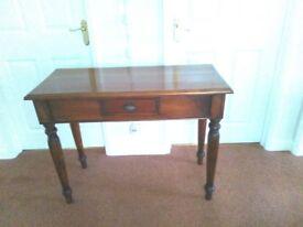 Mahogany hall table. Very good condition.