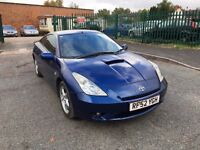 Toyota Celica 1.8 VVT-i - 2 Former Keepers - Service History
