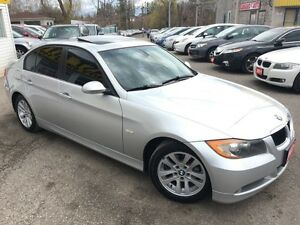 2007 BMW 3 Series 328I/AUTO/LEATHER/ROOF/LOADED/ALLOYS