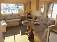 STATIC CARAVAN FOR SALE - SITED TY MAWR - TOWYN - NORTH WALES