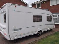 2004 ABBEY VOGUE 416 GTS 4 BERTH LARGE LUXURY CARAVAN MOTOR MOVER ALL ACCESSORIES READY TO GO