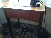 singer electric cabinet sewing machine
