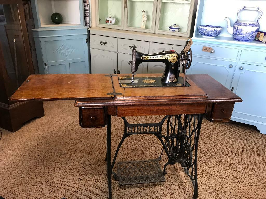 Antique Singer Treadle Sewing Machine | in Stoke-on-Trent, Staffordshire |  Gumtree