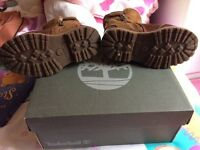 Child's timberland boots size 7