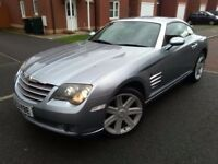 Chrysler Crossfire 3.2 V6 NEW MOT 84k Low Mileage Superb Condition HPI Clear like Porsche & SLK.