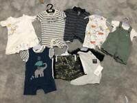 Baby boy summer outfit bundle 3-6 months