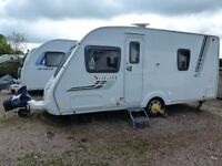SWIFT SAFARI 535 FIXED BED 4 BIRTH LIGHTWEIGHT VAN 2011,WITH MOTER MOVER