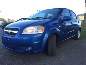 2007 Chevrolet Aveo LT-$47/Wk-SunRoof-Aux-LowKm's-Priced To Sell London Ontario image 4